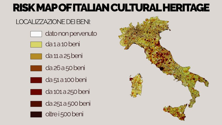 Maris the risk map of the cultural heritage bonifica renardet to provide the first assessment of the hazards which threaten the italian cultural heritage gumiabroncs Gallery