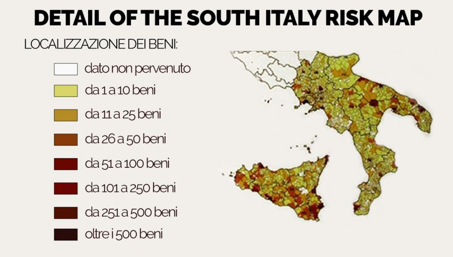 Maris the risk map of the cultural heritage bonifica renardet risk map italy sud2 gumiabroncs Images